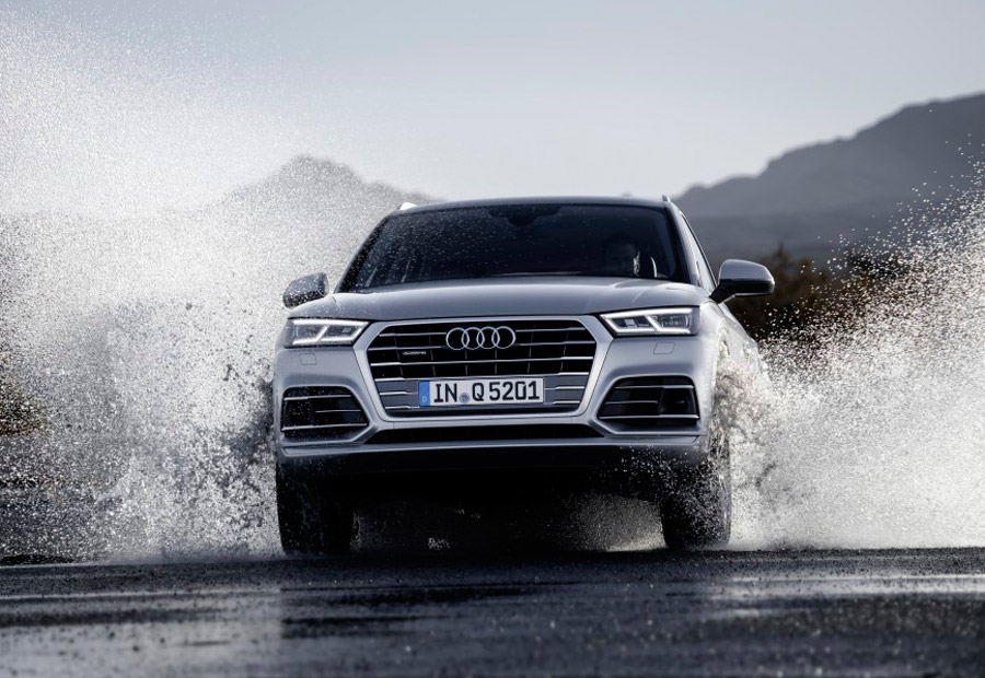 Excepto la versión básica, TDI de 150 CV que llegará más adelante, todos los nuevos Audi Q5 cuentan con tracción a las 4 ruedas.