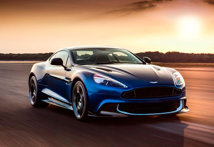 Aston Martin Vanquish S, conquista la potencia a pulmón