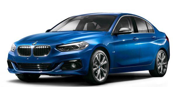 Nuevo BMW Serie 1 Sedán, solo para China