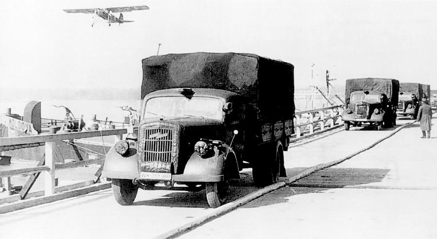El Opel Blitz fue uno de los protagonistas de la Segunda Guerra Mundial.