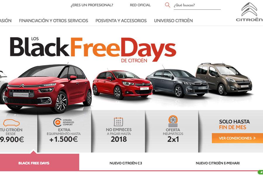 Citroën Black FreeDays 2017.