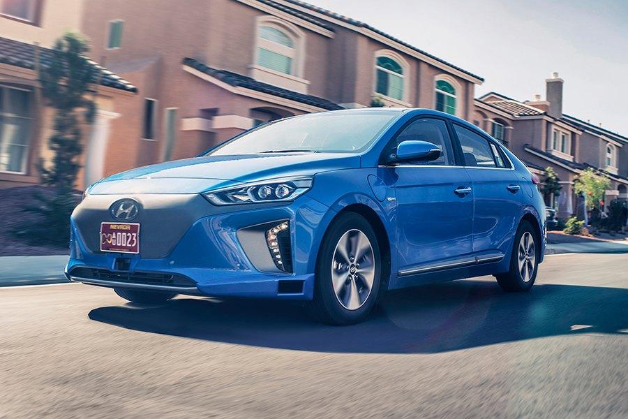 El Hyundai Ionic autónomo en Los Ángeles 2016