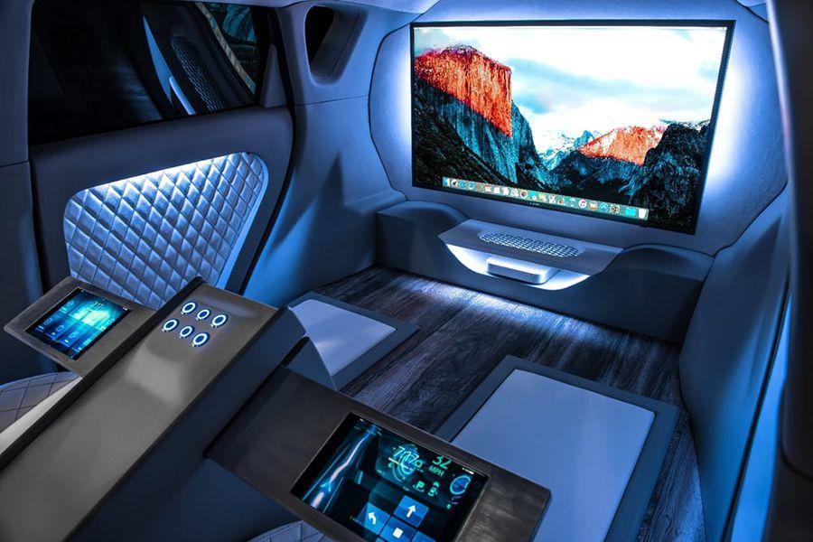 El Kia Soul First Class transforma su interior para los pasajeros que no necesitarán conducir.