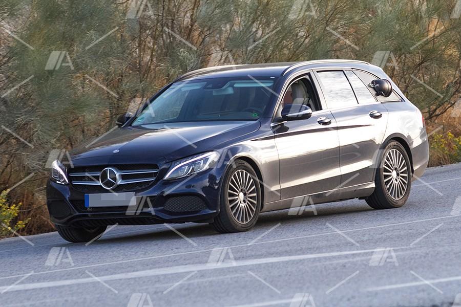 Nuevas fotos espía de la pila de combustible de Mercedes-Benz