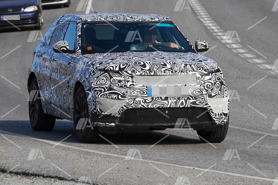 Fotos espía del Range Rover Sport Coupé