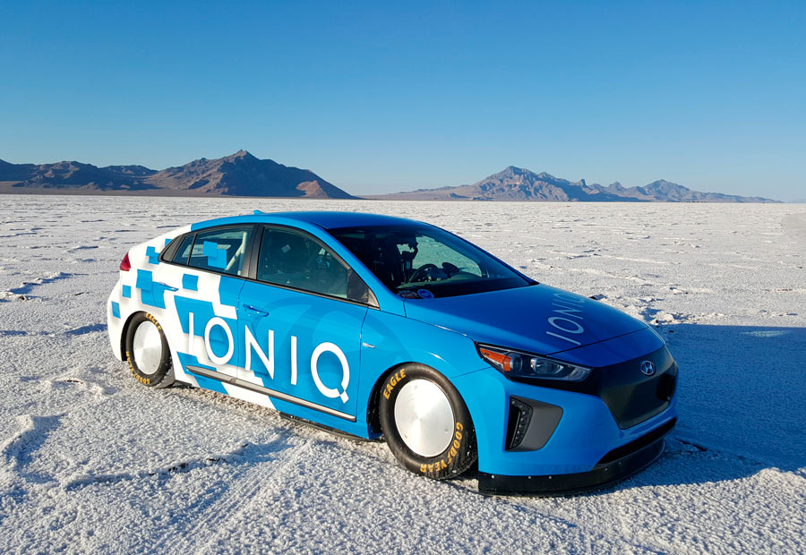 Hyundai Ioniq, récord de velocidad