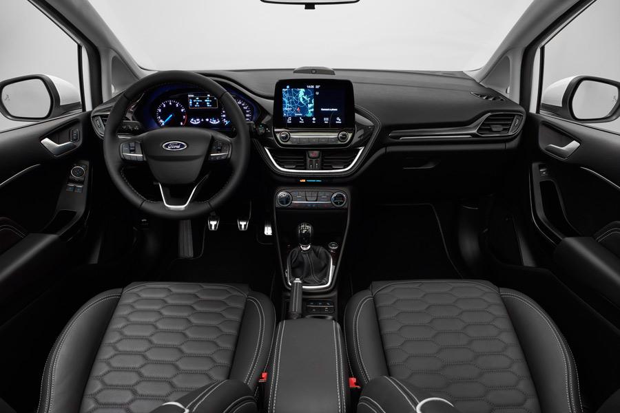 Interior del nuevo Ford Fiesta Vignale-1.