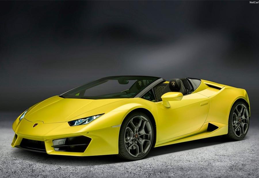 Lamborghini Hurancan LP580-2 Spyder, nuevo deportivo cabrio