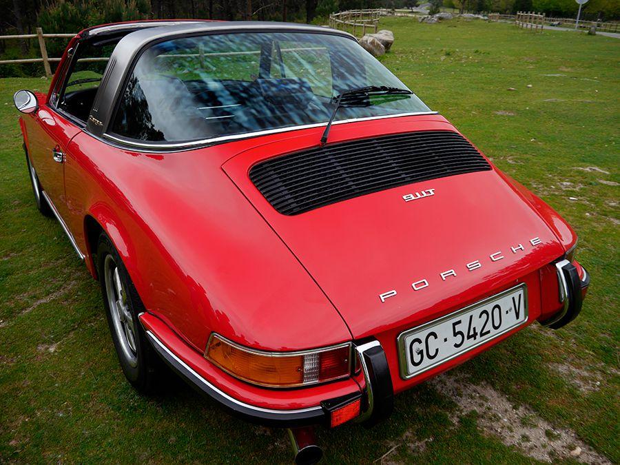 Porsche fue pionera al añadir el limpialuneta trasero entre sus opciones.