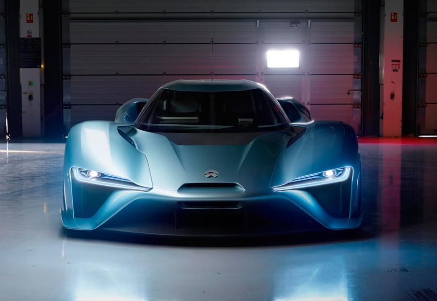 El NIO EP 9 N es el coche eléctrico de producción más rápido del mundo.