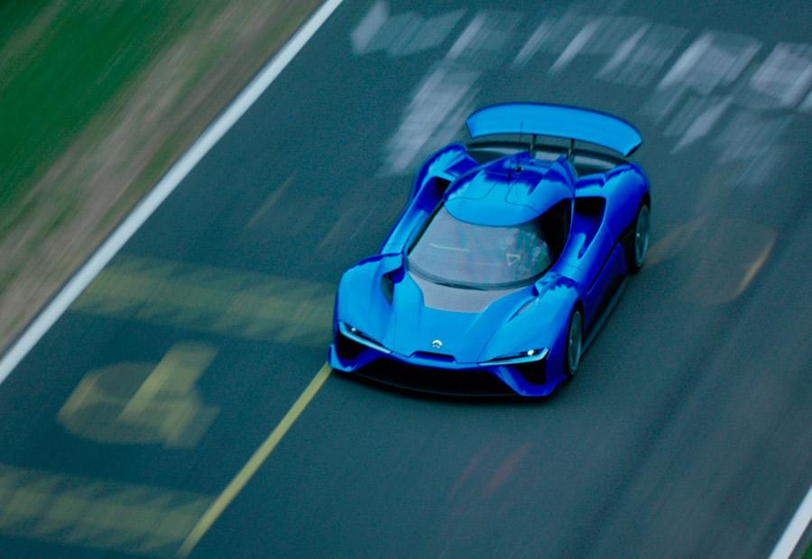 El coche eléctrico que compite con los superdeportivos
