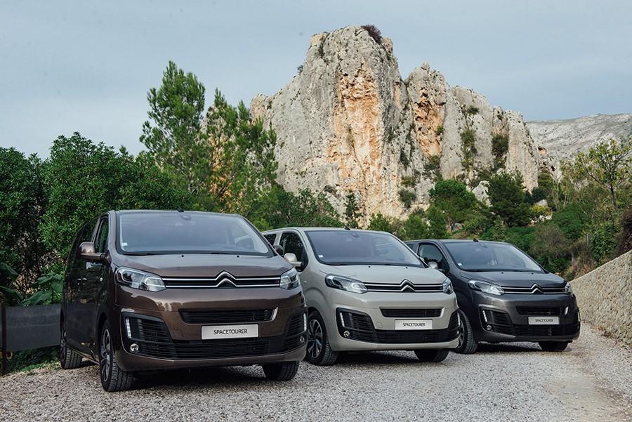 Nuevo Citroën SpaceTourer desde 24.190 euros
