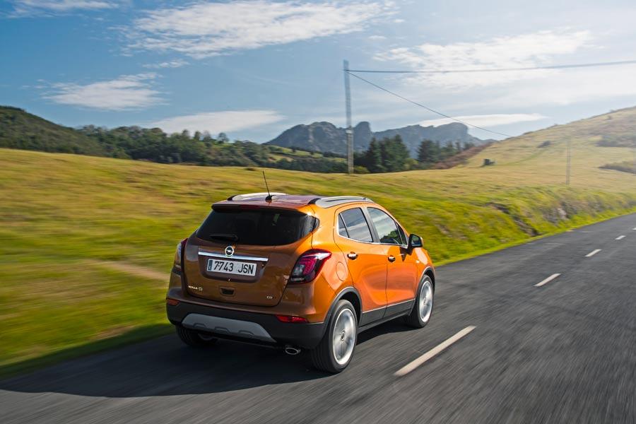 El Opel Mokka es un coche confortable.