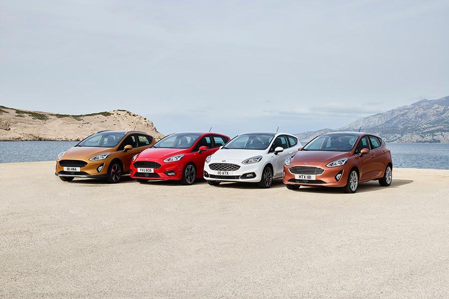 El Fiesta contará con 4 personalidades diferenciadas: Active, ST Line, Vignale y Titanium-Trend.