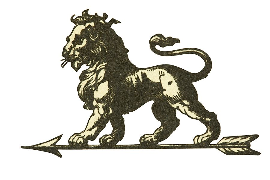 Así era la primera imagen del logo de Peugeot hace más de cien años.