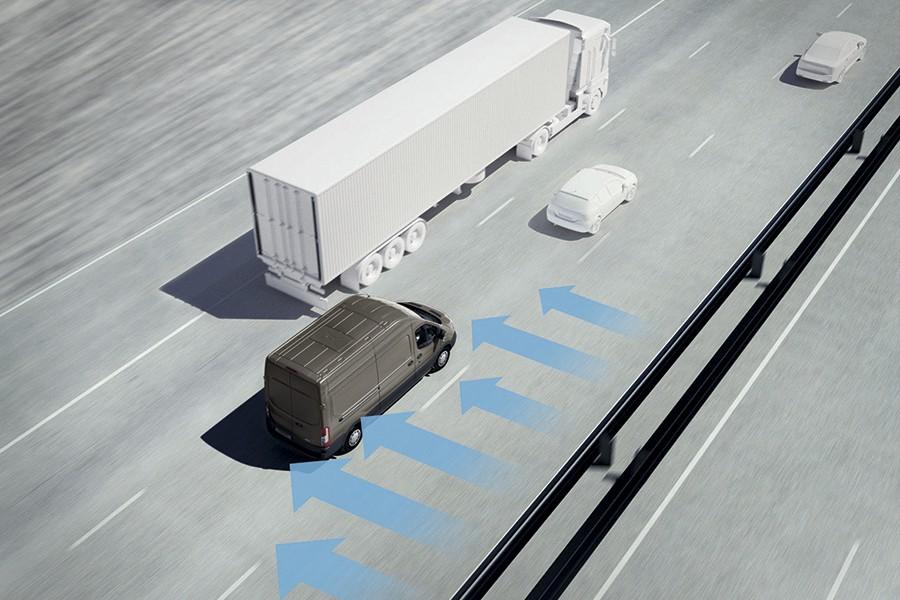 Sistema contra viento lateral para Ford Transit