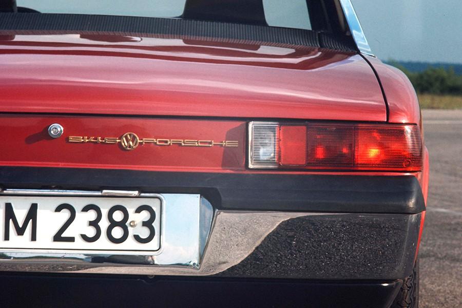 El Porsche 914 fue un proyecto conjunto entre VW y Porsche.