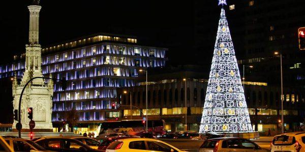 Cómo evitar atascos en Madrid estas Navidades