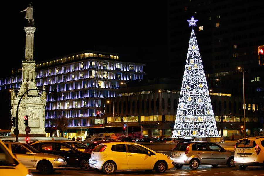 Cómo evitar atascos en Madrid estas Navidades.