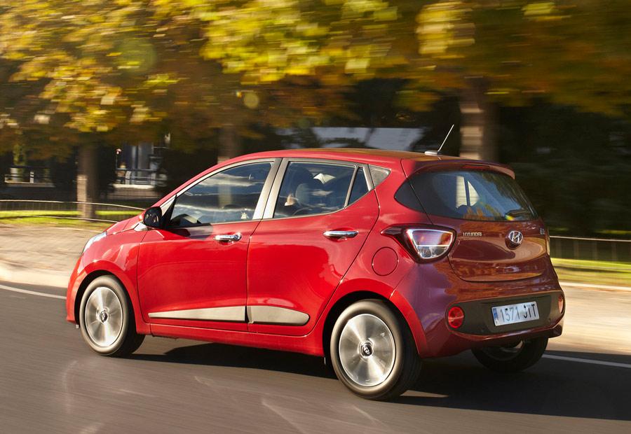 Hay disponibles nuevos colores para la carrocería del nuevo Hyundai i10.