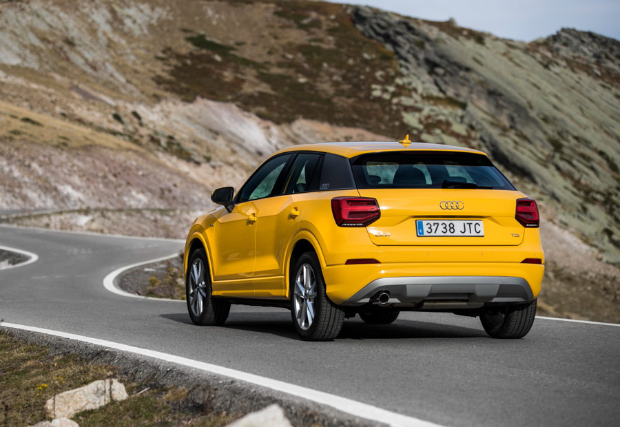 El nuevo Audi Q2 está disponible con 3 acabados diferentes.