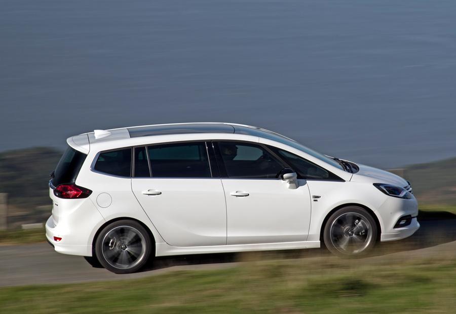 El nuevo Opel Zafira mantiene la longitud de su predecesor: 4,6 metros.
