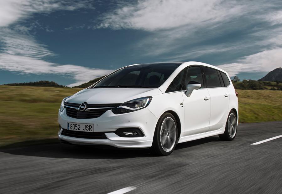 Opel Zafira 2.0 turbodiésel CDTI 170 CV 2017, presentación y prueba