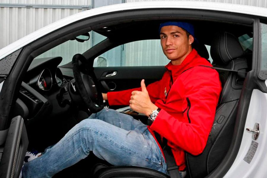 Los coches de Cristiano Ronaldo