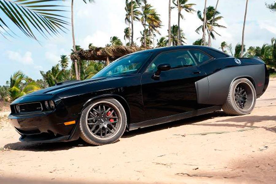 """Dodge Challenger SRT8, el coche de Toretto en """"Fast Five""""."""