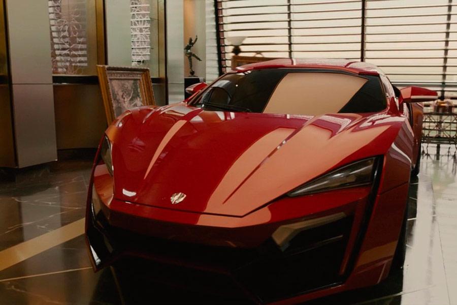 "Lykan HyperSport, el coche de Toretto en ""Furious 7""."