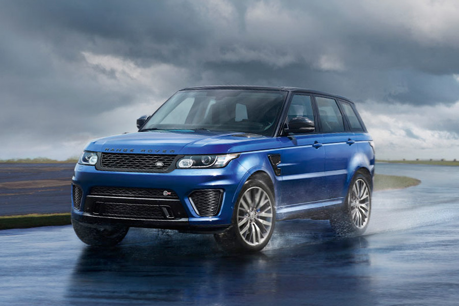 Range Rover Sport SVR.