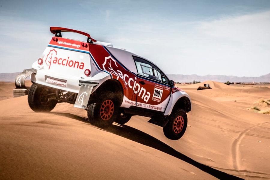 Acciona Eco Powered, el vehículo 100% eléctrico del argentino Ariel Jatón.