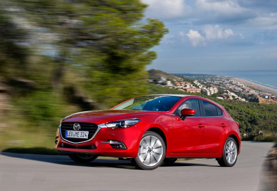 Mazda 3, presentación y prueba del coche de 2017