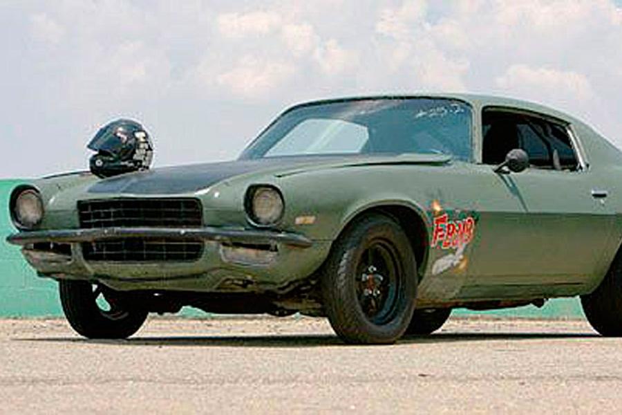 "Chevrolet Camaro Z28 F-Bomb, el coche de Toretto en ""Fast and Furious"" (4)."