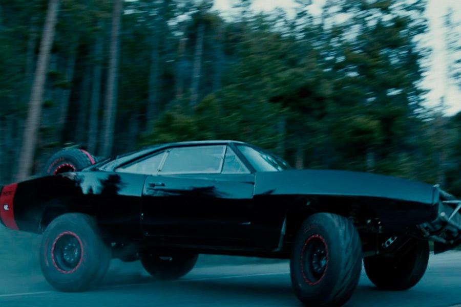 """Dodge Charger R/T Offroad, el coche de Toretto en """"Furious 7""""."""