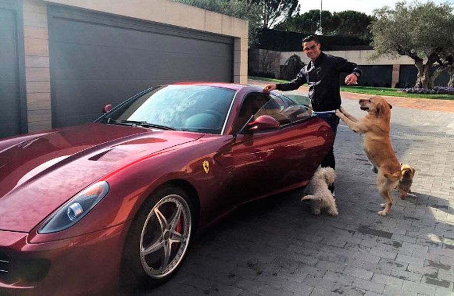Ferrari 599 GTB Fiorano de Cristiano Ronaldo
