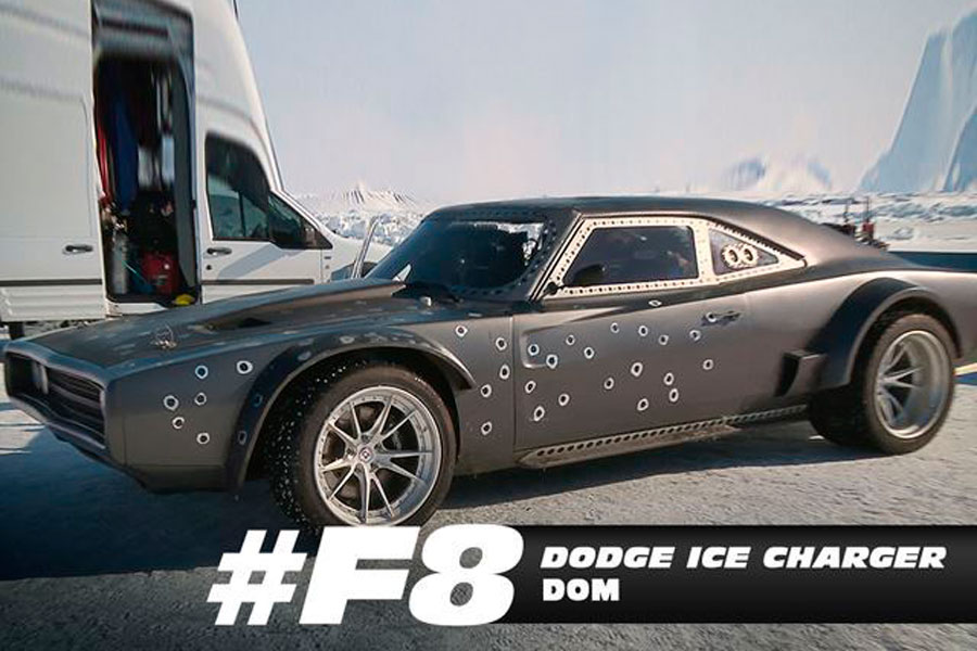 "Dodge Charger, el coche de Toretto en ""Fast and Furious 8""."