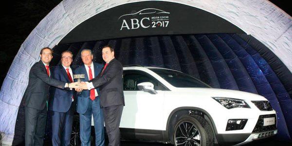Seat Ateca, Mejor Coche del Año ABC 2017