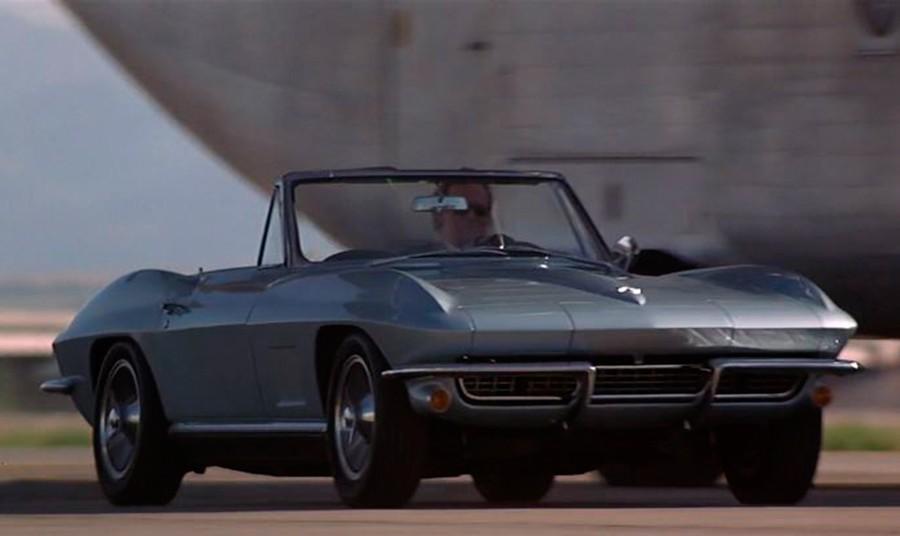 El Corvette es otro icono americano que suele aparecer en el cine.