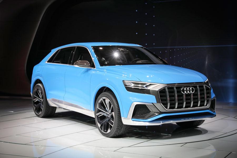 El Audi Q8 es primicia en el Salón de Detroit 2017