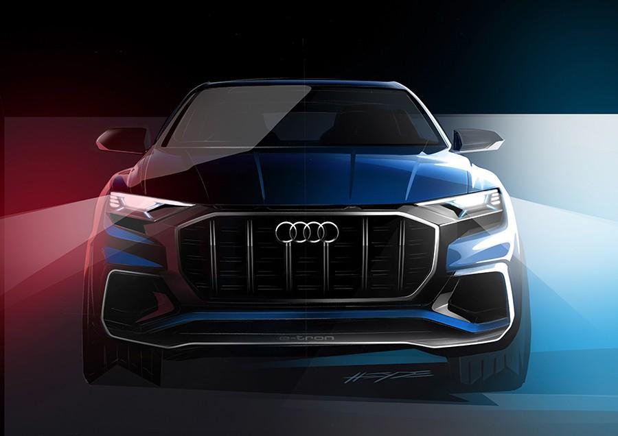 El Q8 además de un nuevo modelo es una nueva forma de fabricar coches.