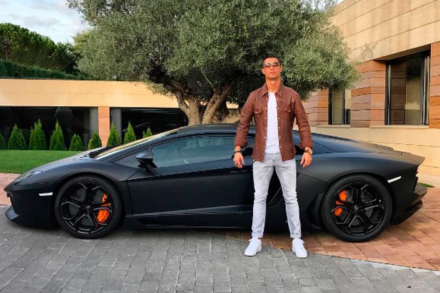 Lamborghini Aventador LP 700-4 de Cristiano Ronaldo
