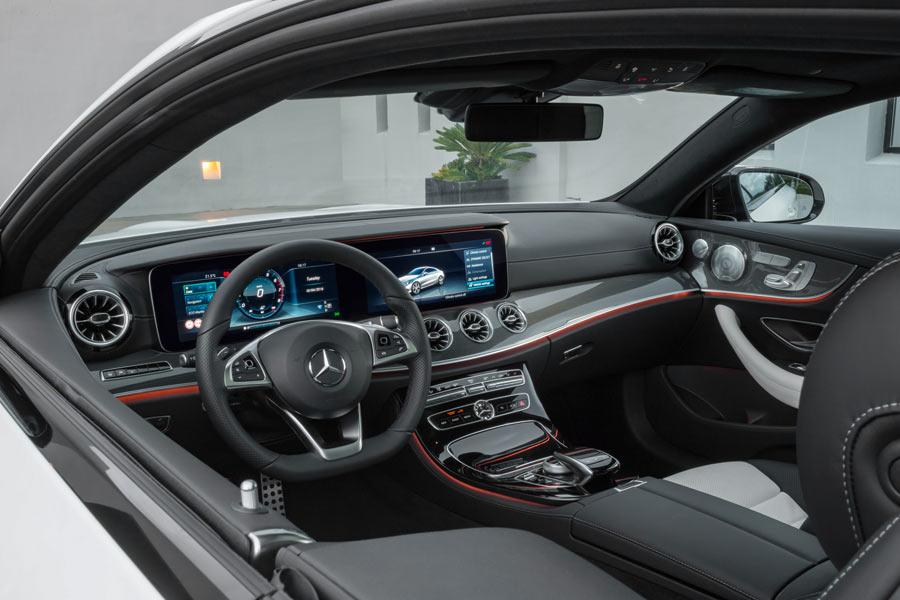 Nuevo Mercedes Clase E Coupe 2017 interior (6)