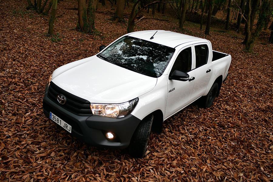 Prueba del Toyota Hilux GX doble cabina 2017