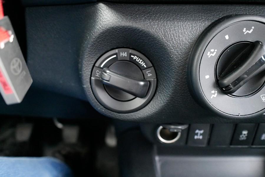 Con este mando se controla el sistema de tracción.
