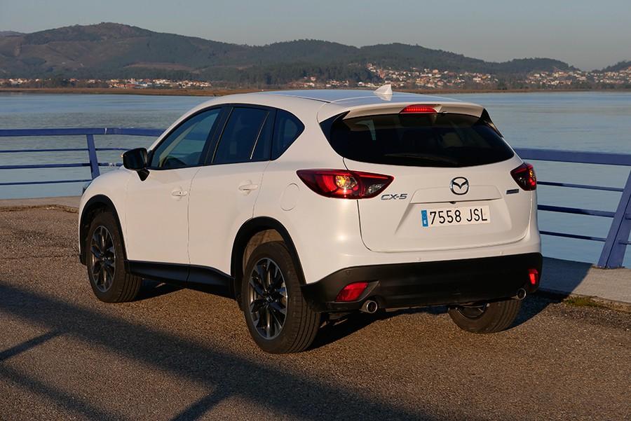 Los consumos del CX-5 son correctos pero están muy penalizados por sus desproporcionados neumáticos.