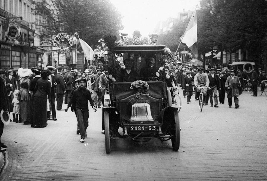 Taxi de la batalla de La Mame.