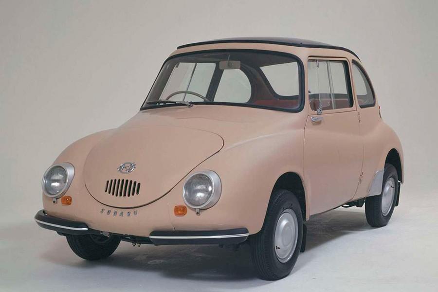 El diseño del Subaru 360 es muy simpático.