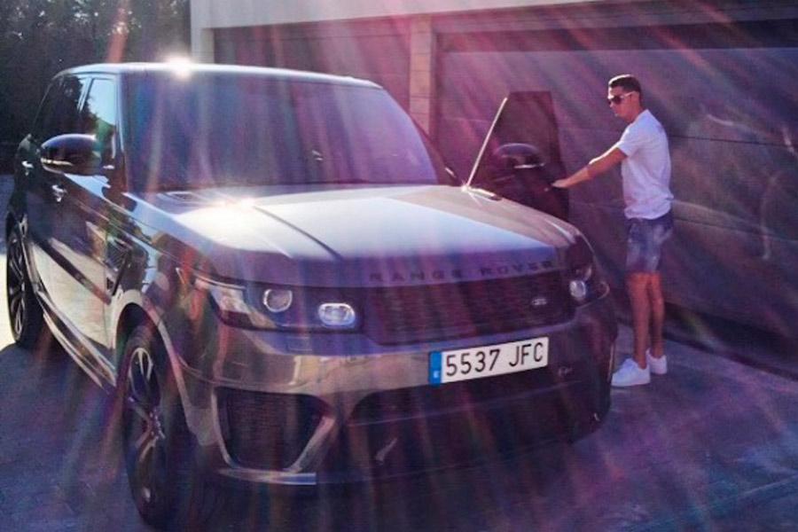 Range Rover Sport de Cristiano Ronaldo