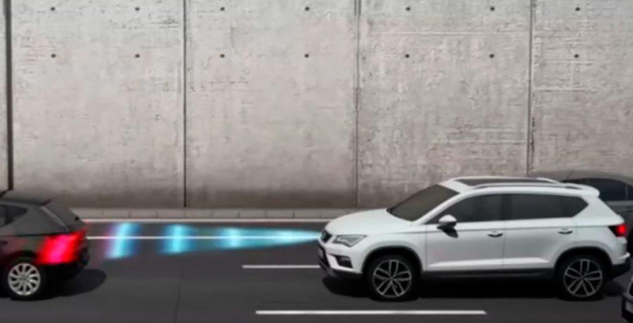 Sistemas de seguridad y asistencia a la conducción del Seat Ateca